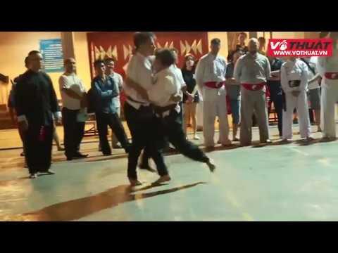 Võ sư Francois Flores chạm mặt chưởng môn Karate Việt Nam