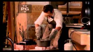 Ron Swanson shows us how to make a ring