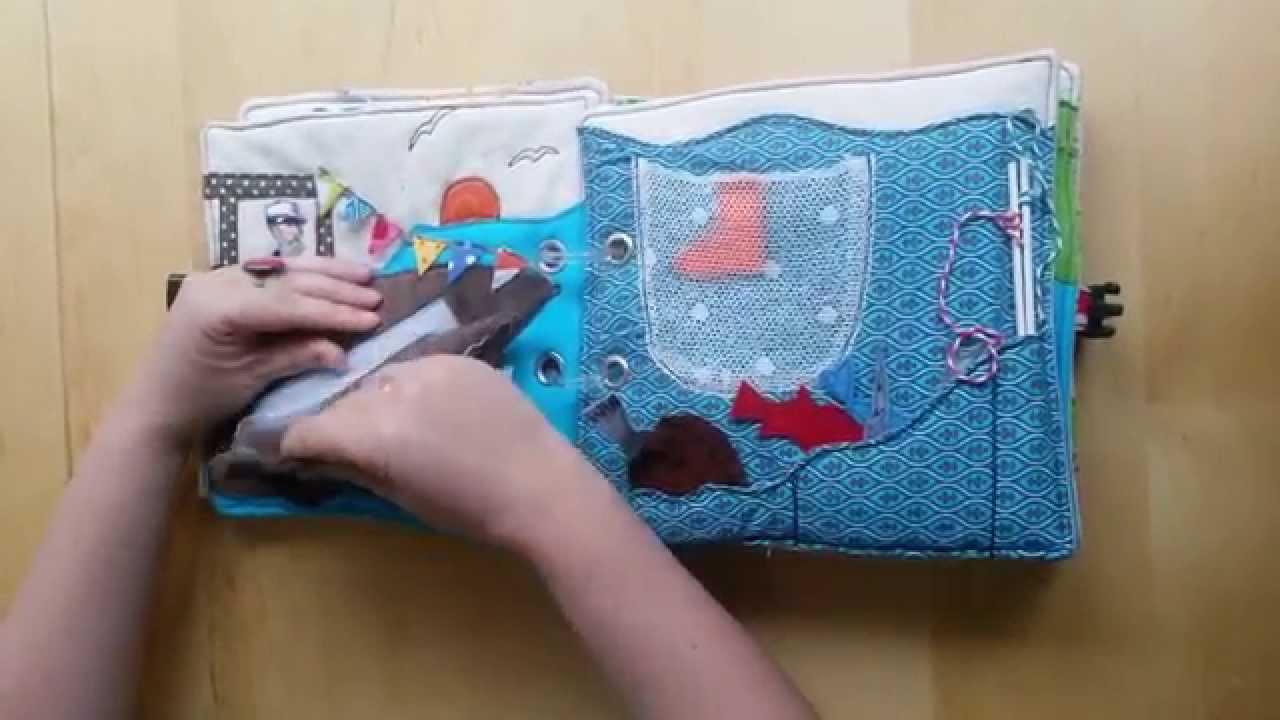 diy quietbook n hen spielbuch f hlbuch mecklenburg vorpommern youtube. Black Bedroom Furniture Sets. Home Design Ideas