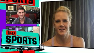 Holly Holm -- Stop Trashing Ronda Rousey ... She