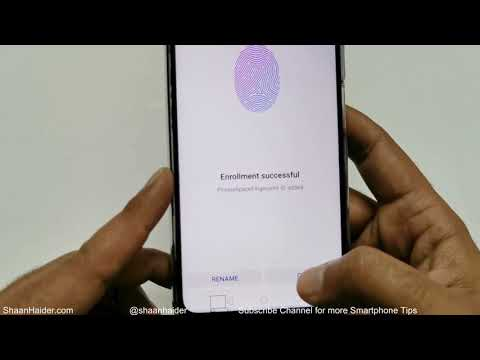 Huawei Y9s / Nova 7i / Nova 5T - How To Setup Fingerprint Scanner