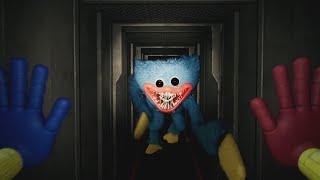ESTE PELUCHE TERRORIFICO ME PERSIGUE POR LA VENTILACIÓN| Poppy Playtime CHAPTER 1 ENDING EASTER EGGS