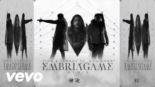 Embriagame - Zion y Lenox Ft Don Omar (Official Audio)