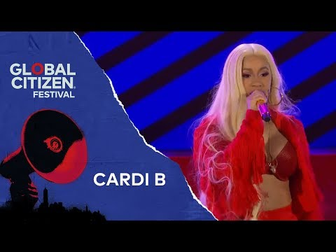 Cardi B Performs Be Careful | Global Citizen Festival NYC 2018