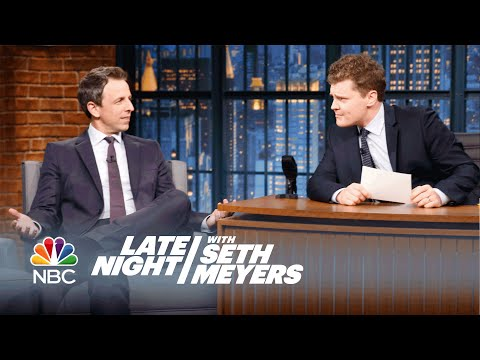Late Night Writer Ben Warheit Told His Parents He's the Host of the Show