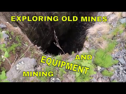 Exploring Old Mines And Antique Mining Equipment | Aquachigger