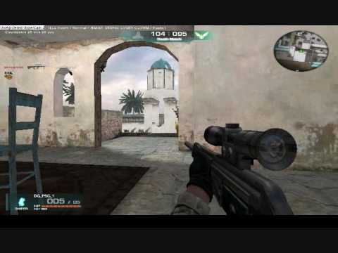 Warrock Game play scorpion mp7 gold m249 psg m60 g36 and more!