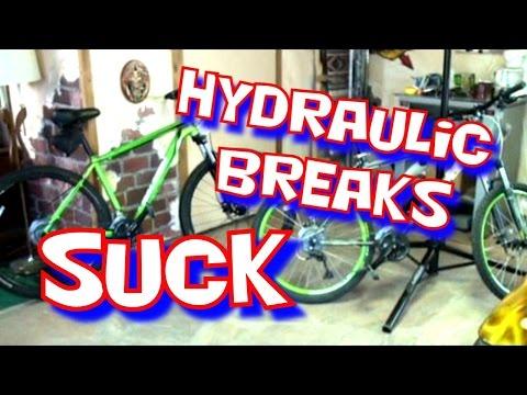 """Mountain Bike"" Extreme-Hydraulic ""Brakes"" Verses Mechanical Brakes"