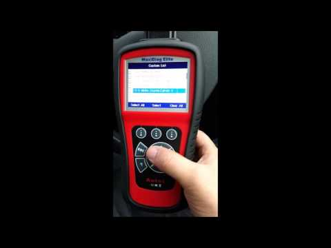 Autel MD802 MaxiDiag All Systems Live Test and Review Car Diagnostic Scanner Finding Faults