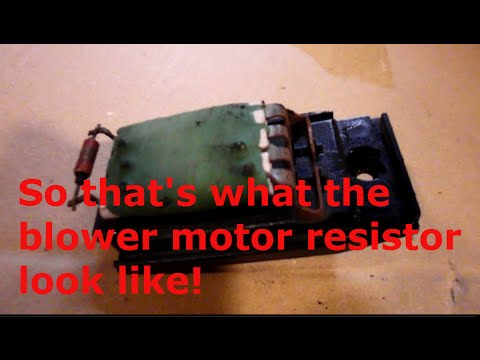 How to check and replace the blower motor resistor on a 2010 ford how to check and replace the blower motor resistor on a 2010 ford transit sciox Gallery