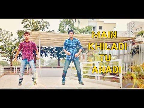Main Khiladi Tu Anari Dance Cover || Rohit Sangwan || Vikash Singh
