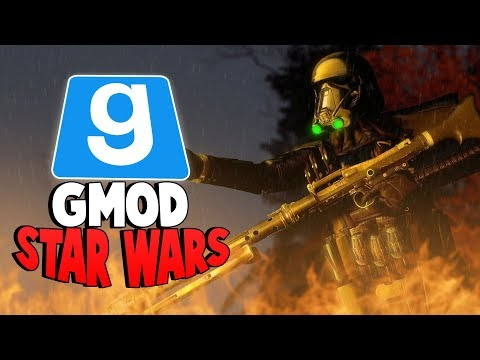 EXPLORING THE NEW DEATHSTAR - Gmod Star Wars RP - (DEATH TROOPER RAGES AND LEAVES)