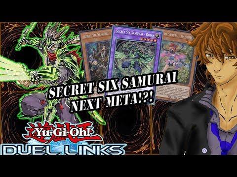 SECRET SIX SAMURAI GUARANTEED NEXT META!?! | YuGiOh Duel Links