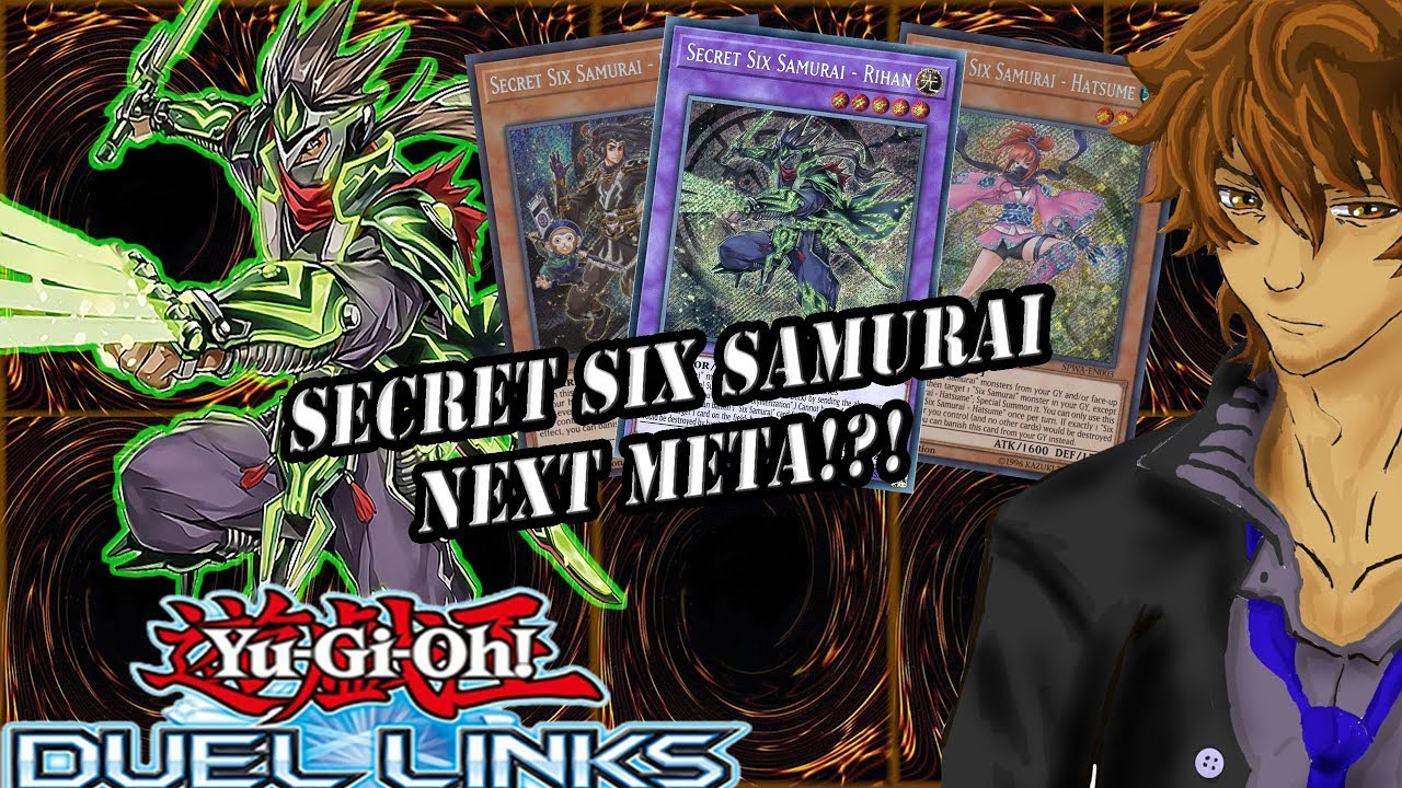 SECRET SIX SAMURAI GUARANTEED NEXT META YuGiOh Duel Links,VHTEF