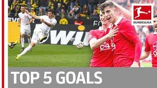 Havertz, Götze, Kownacki & More - Top 5 Goals On Matchday 33