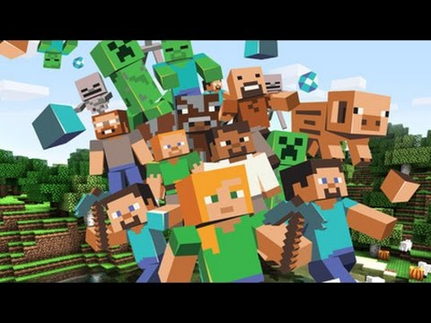 Minecraft Gameplay HD IPhone 5s IPad Air Mini Retina InGame Review
