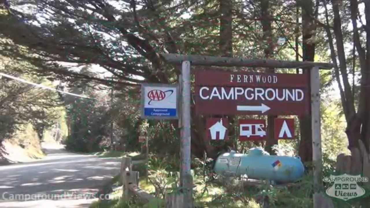 campgroundviews - fernwood resort big sur california ca - youtube