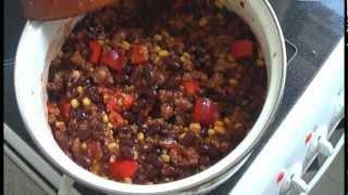 Rezept für Chili Con Carne - Das geile und scharfe Partyrezept