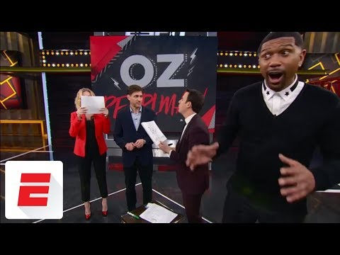 Mentalist blows the minds of Jalen Rose and Michelle Beadle with unreal bracket mind tricks | ESPN