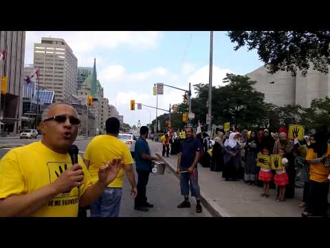 Mohamed S. Kamel's Speech on Rabaa Day 2015 - Ottawa