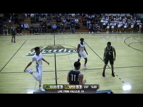 El Cerrito vs St. Patrick-St. Vincent High School Boys Basketball LIVE 1/11/18