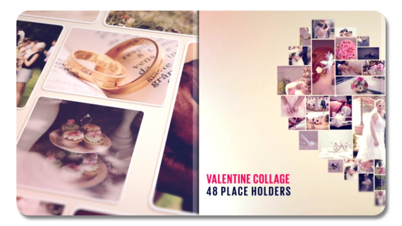 Valentine Collage 19328855 | After Effects Template