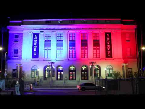 Mob Museum in Las Vegas Gets New Lights