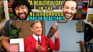 A BEAUTIFUL DAY IN THE NEIGHBORHOOD | TRAILER - REACTION!!!