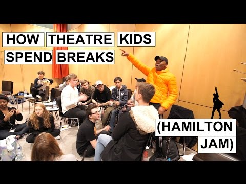 HAMILTON Jam! (How Theatre Kids Spend Their Lunch Breaks!)