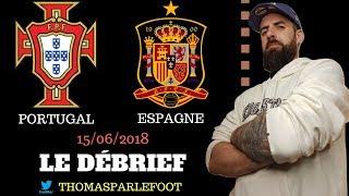 PORTUGAL - ESPAGNE : 3 - 3 COUPE DU MONDE 2018 - RONALDO MAGIQUE ! / 15-06-2018