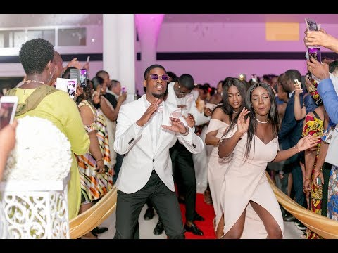 Entrée dansante  1 - Chorégraphie Mariage Africain Fondatrice Cinaa Titi