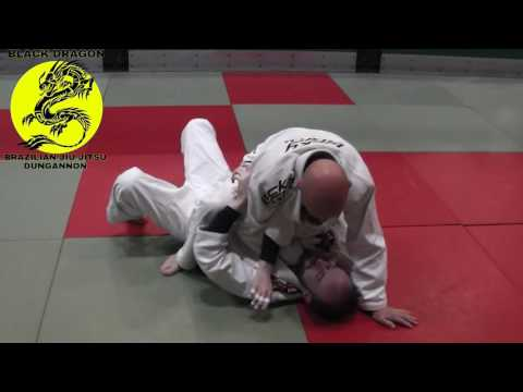 bow and arrow choke from mount (week 6)
