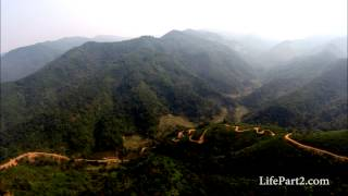 Drone Video of Hill Tribe Village in Northern Laos