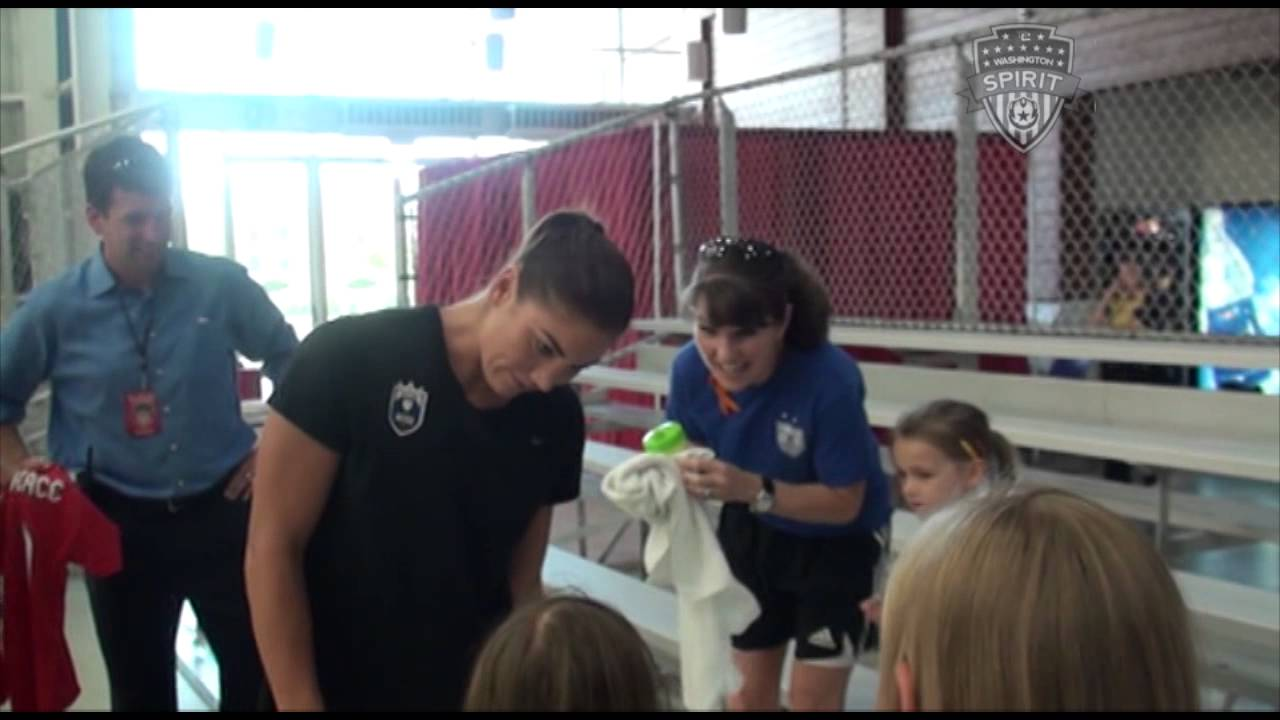 hope solo meet and greet
