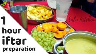 ഒരു മണിക്കൂറിൽ ഒരു ഇഫ്താർ | 1 hour Iftar preparation | Ramadan Special | Salu Kitchen