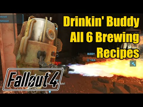 All Drinkin' Buddy's Recipes - Gwinnett Ale, Brew, Lager, Pale, Pilsner, Stout - Fallout 4