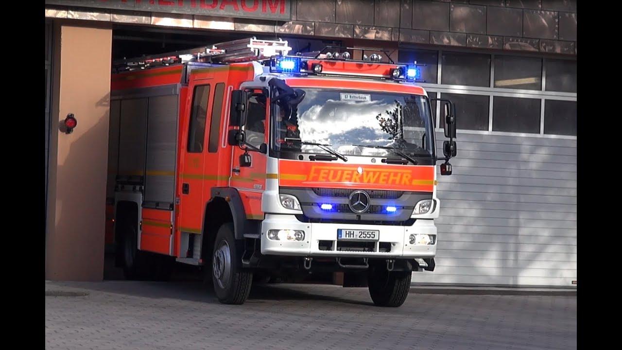 Neues HLF Feuerwehr Hamburg [Einsatzfahrt+Bilder] F-13