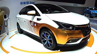 2016, 2017 Electric vehicle Luxgen 3, Luxgen S3 EV – Auto China 2016