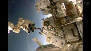 International Space Station U.S. EVA 27 (time lapse)