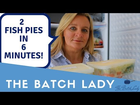 2 Family Fish Pies In 6 Minutes