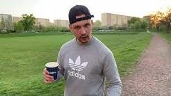 War ich letzte Woche Kaffee holen Jobanij vrot