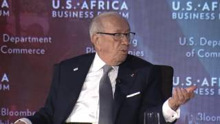 Remarks by Beji Caid Essebsi, President of Tunisia: 2016 U.S.-Africa Business Forum