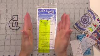 Add A-Quarter Ruler 6in Plus  video