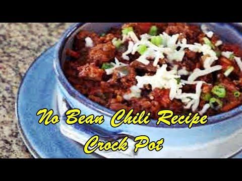 No Bean Chili Recipe Crock Pot