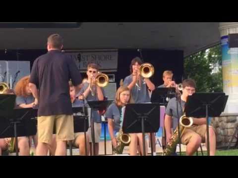 Mallie singing All Of Me w/ Ludington High School Jazz Band