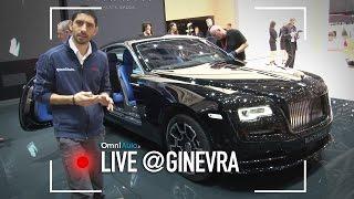 Rolls-Royce Wraith e Ghost Black Badge | Salone di Ginevra 2016