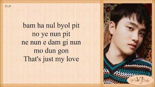 D.O. (디오) My Love (Easy Lyrics)