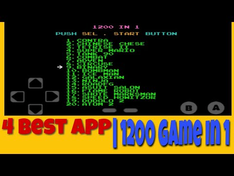 1200 Game in 1| Four Best App| Technical SANJEEV |