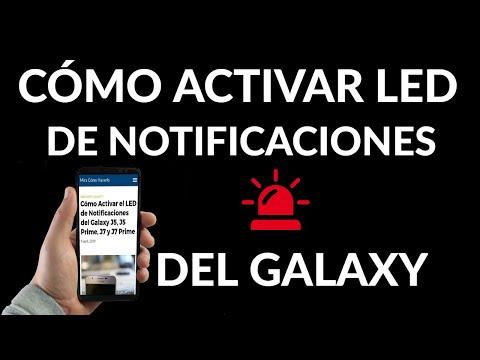Cómo Activar el LED de Notificaciones en tu Samsung Galaxy