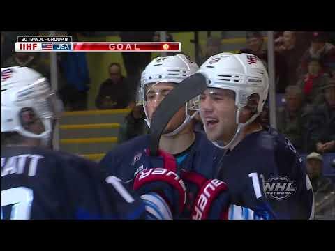 2019 WJC | U.S. Tops Kazakhstan, 8-2, In Prelims